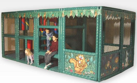SportsPlay Tot Town Contained Play Jungle - Free Shipping