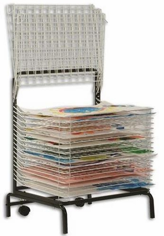 Copernicus Spring Loaded Drying Rack (20 Shelves)