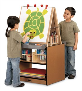 Sproutz 2 Station Kids Easel
