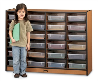 Sproutz 24 Paper-Tray Storage - Mobile School Cubbie