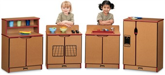 Sproutz 4 Piece Kinder Play Kitchen Set