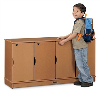 Sproutz 4 Section Stacking Lockable Lockers
