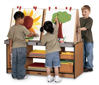 Sproutz 4 Station Kids Easel