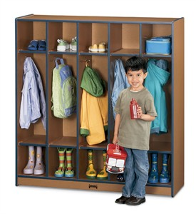 Sproutz 5 Section Classroom Coat Locker