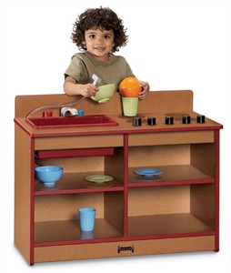 Sproutz Toddler 2-In-1 Play Kitchen