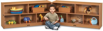 Sproutz Toddler Fold-N-Lock Classroom Storage Unit
