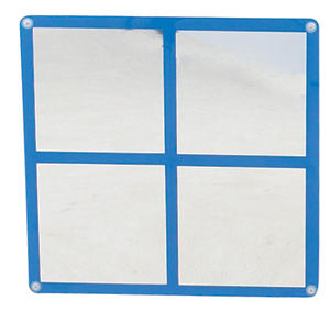 Square Windowpane Mirror