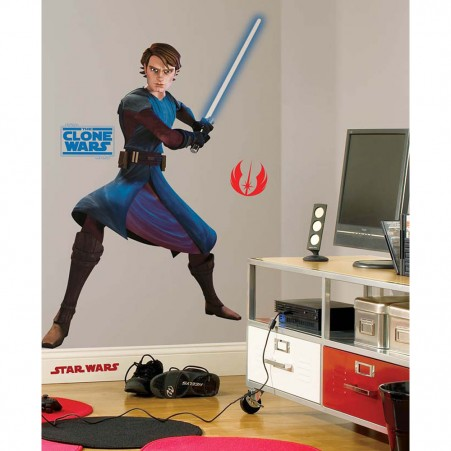 Star Wars Anakin Peel & Stick Giant Wall Decal