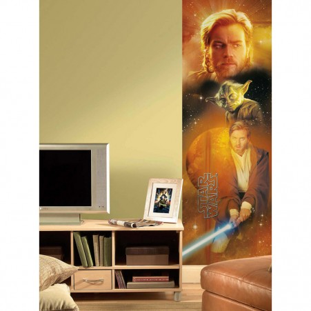 Star Wars Obiwan Peel & Stick Panel