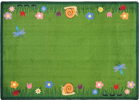Summer Friends Area Rug 5'4 x 7'8 Rectangle