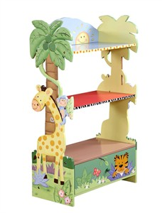 Sunny Safari Bookcase for Kids
