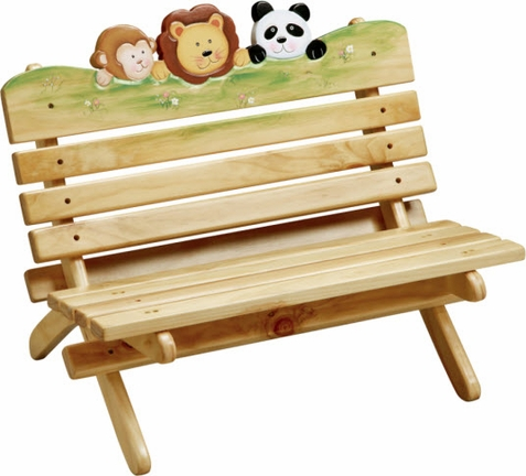 Sunny Safari Outdoor Bench - Free Shipping