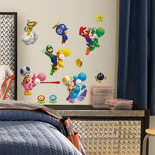 Super Mario Bros Wii Wall Decals