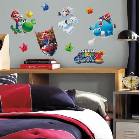 Super Mario Galaxy 2 Decals