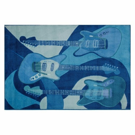 Supreme The Blues Area Rug - Free Shipping