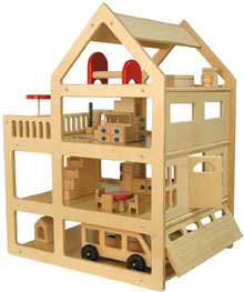 Tag Toys Family Doll House - Free Shipping