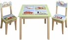 Kids Transportation Table & Chair Set