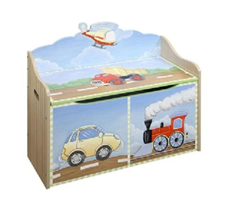 Kids Transportation Toy Chest