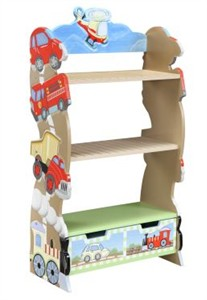 Transportation Bookshelf