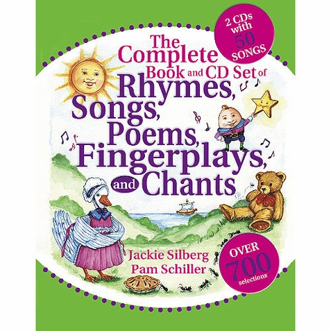 The Complete Book and CD Set of Rhymes, Songs, Poems, Fingerplays, & Chants