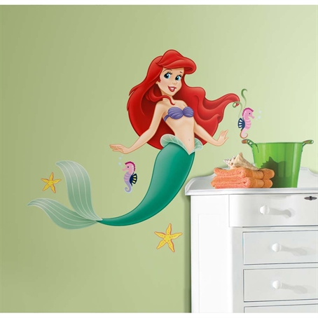 The Little Mermaid Giant Wall Decal