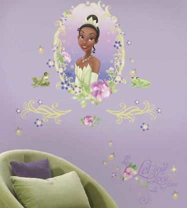 The Princess and The Frog Wall Medallion