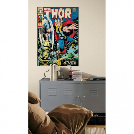 Thor Peel & Stick Giant Comic Book Cover