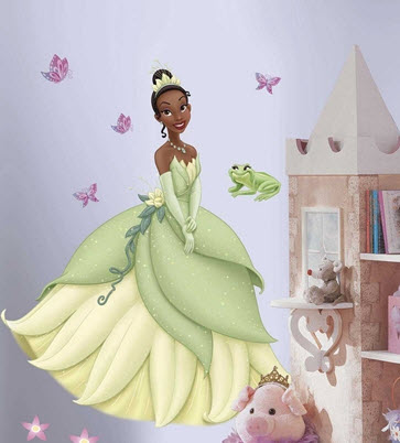 Tiana Giant Wall Decal