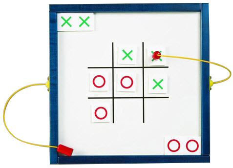 Tic Tac Toe Wall Magnetic Toy