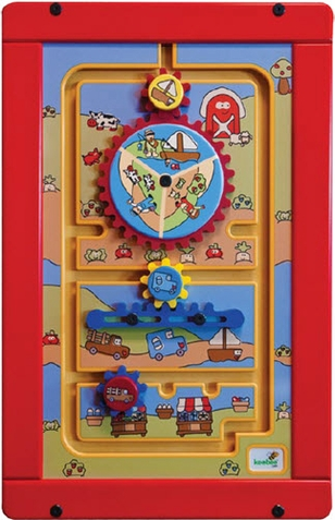 To the Market Wall Activity Toy