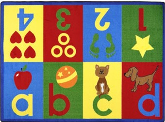 Toddler Basics Educational Rug