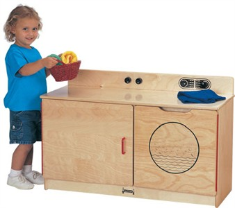 Jonti-Craft Toddler Combo Laundry Center