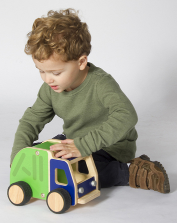 Toy Plywood Garbage Truck