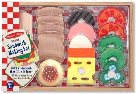 Toy Sandwich Set