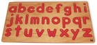 Traceable Lowercase Wood Alphabet Puzzle