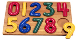 Traceable Numbers Learning Puzzle