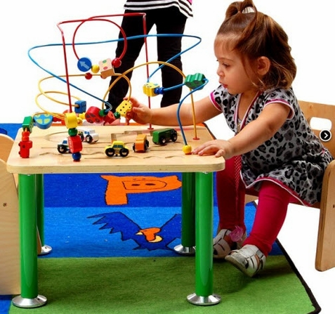 Anatex Traffic Jam Rollercoaster Bead Table