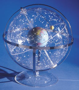 Transparent Celestial Star Globe