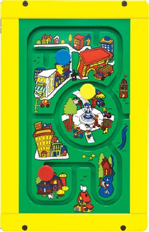 Travel Town Wall Activity Panel Game
