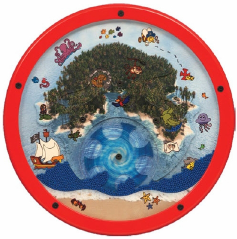 Treasure Island Round-A-Bout Wall Activity Toy
