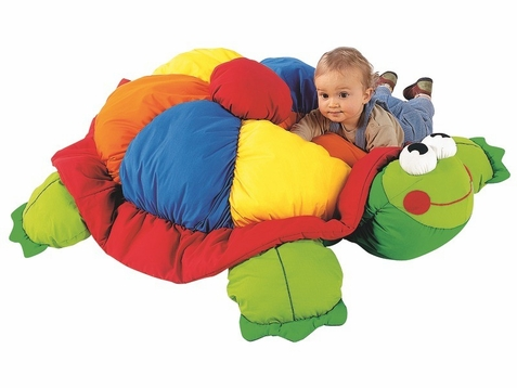Lula the Tortoise Cushion Pillow - Free Shipping