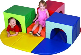 Triple Crawl Thru Soft Play Climber