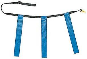 Champion Sports Triple Flag Football Belt - Set of 24