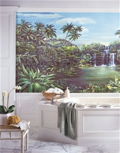 Tropical Lagoon XL Mural