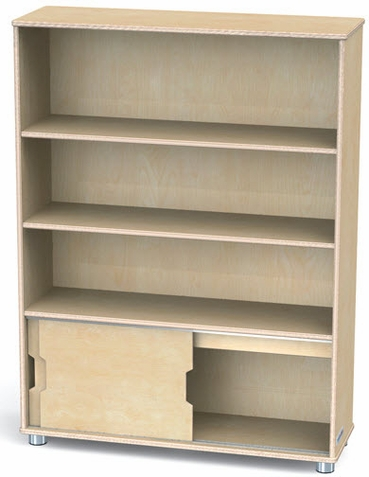 Truemodern Three-Shelf Bookcase