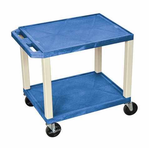 Tuffy Blue Utility Cart