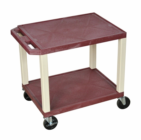 Tuffy Burgundy Utility Cart
