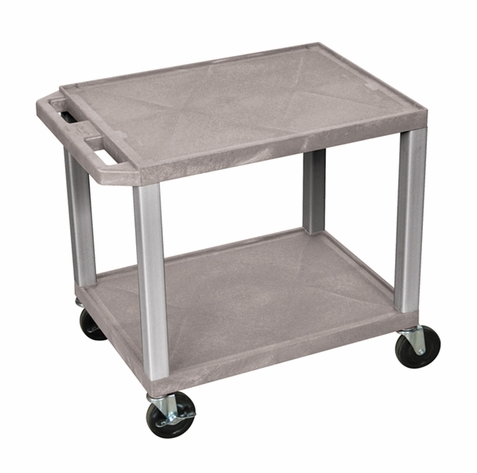 Tuffy Gray Utility Cart