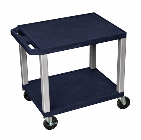 Tuffy Navy Blue Utility Cart