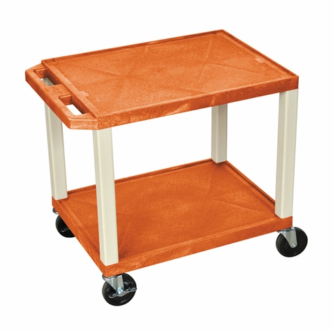Tuffy Orange Utility Cart